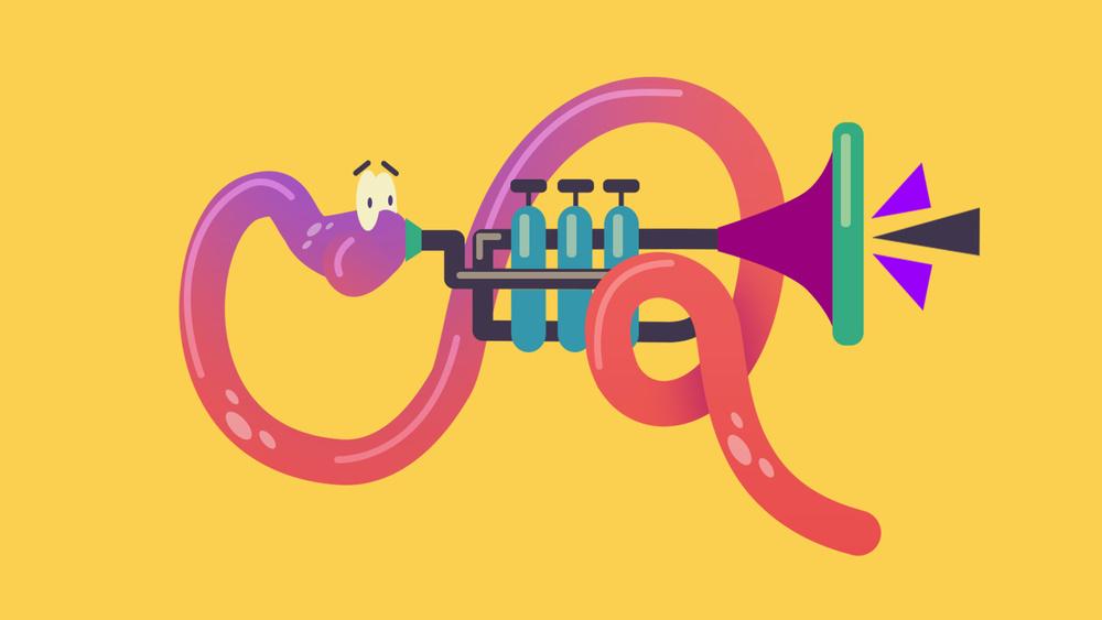 TrumpetWorm